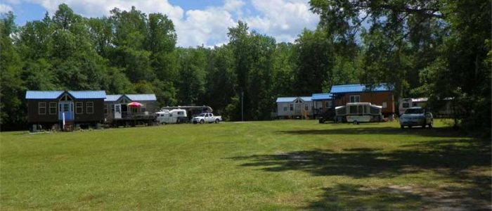 middle creek campground view