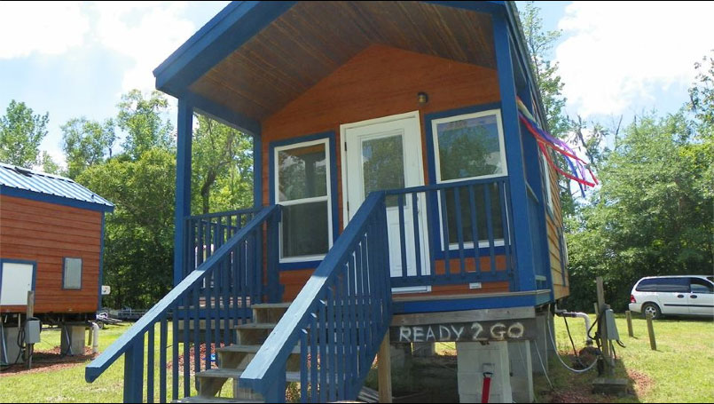 middle creek campground cabin